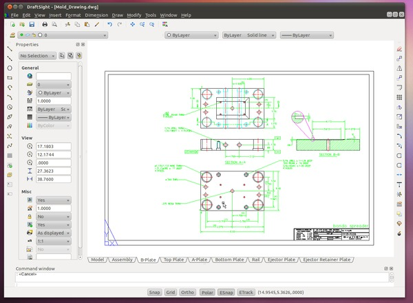 Cad For Linux Uningestive