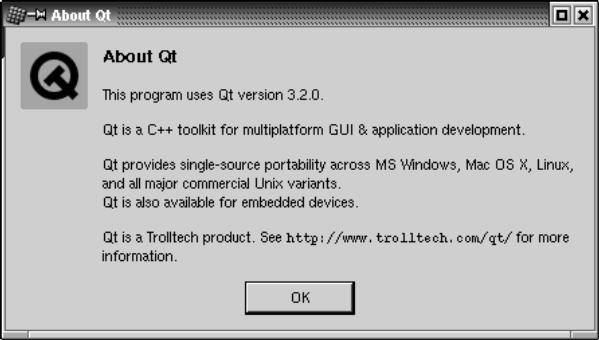 Разработка графического интерфейса с помощью библиотеки Qt3