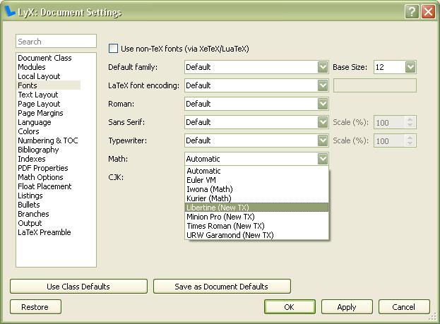 Выпуск текстового процессора LyX 2 1 0