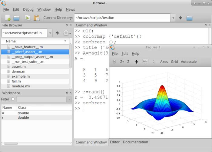 Релиз системы для математических расчётов GNU Octave 4.2.0