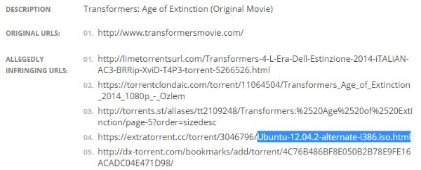 Торрент с Ubuntu удалён из поисковой выдачи Google из-за ошибки в требовании DMCA