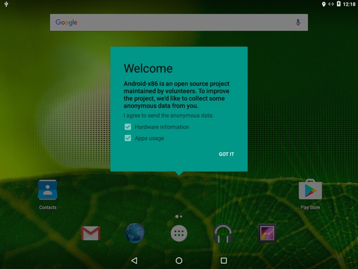 Проект Android-x86 выпустил сборку Android 6.0 для платформы x86