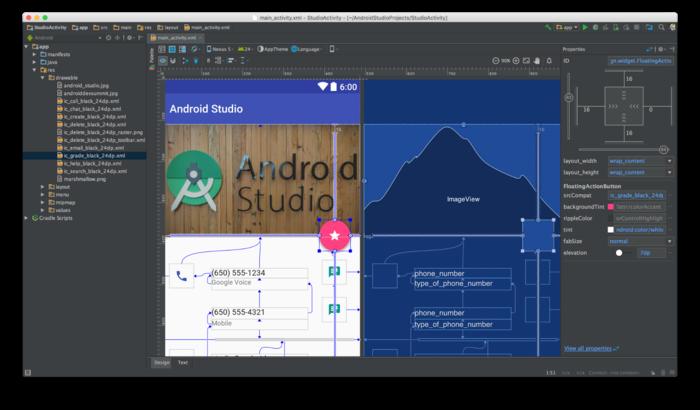 Релиз среды разработки Android Studio 2.2