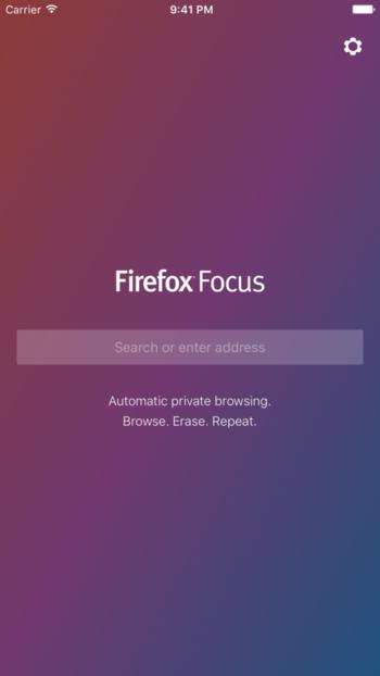 Проект Mozilla выпустил Firefox Focus для iOS