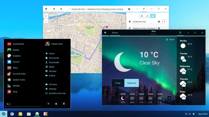 Выпуск Zorin OS 12, дистрибутива для пользователей, привыкших к Windows