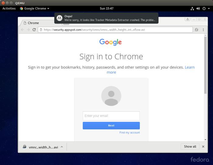 Угроза безопасности из-за автоматической обработки мультимедийных файлов