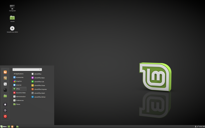 Linux Mint 18.3 Sylvia Cinnamon Edition