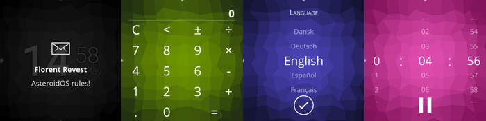 В дистрибутив postmarketOS добавлен интерфейс для умных часов