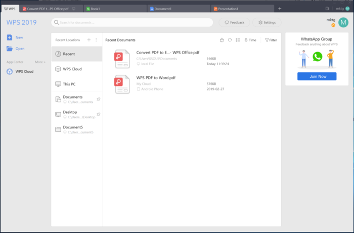 OpenNews: Обновление офисного пакета WPS Office 2019 для Linux