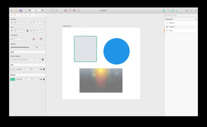 Доступен Akira, новый редактор векторной графики для Linux