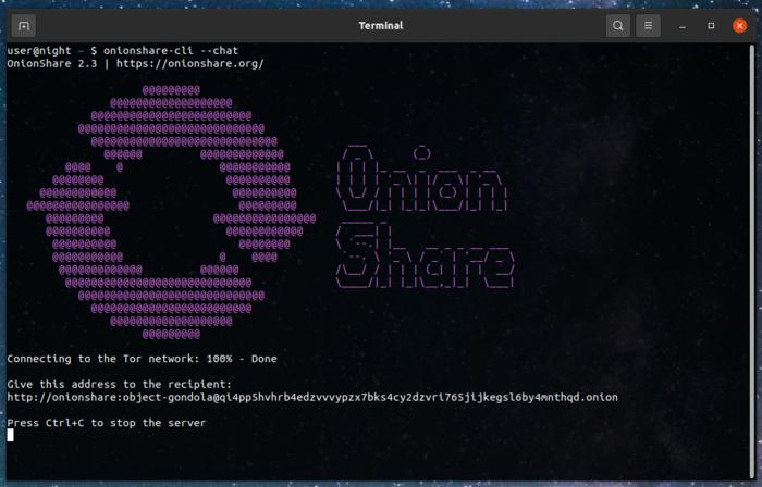 Проект Tor опубликовал приложение для обмена файлами OnionShare 2.3
