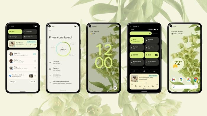 Выпуск мобильной платформы Android 12