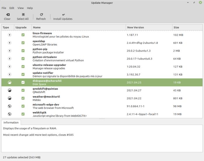 Релиз дистрибутива Linux Mint 20.2